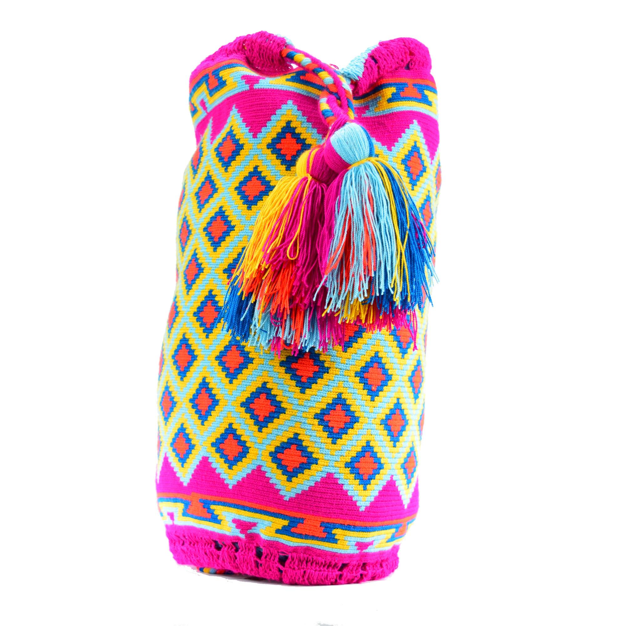 Wayuu Drawstring- Single Thread