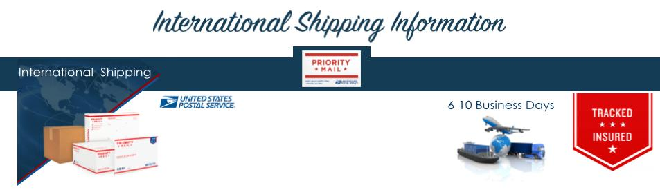 International Shipping Info Header