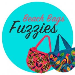 Fuzzies - Beach Bags